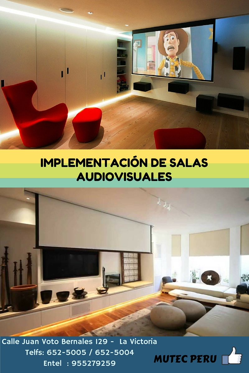 salas audiovisuales